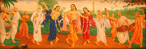 """Sankirtana, chanting performed in India's bhakti devotional traditions, has recently been designated as an """"intangible cultural heritage"""" by UNESCO."""