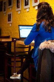 woman at computer small